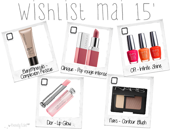 revue avis test wishlist bareminerals opi dior nars clinique