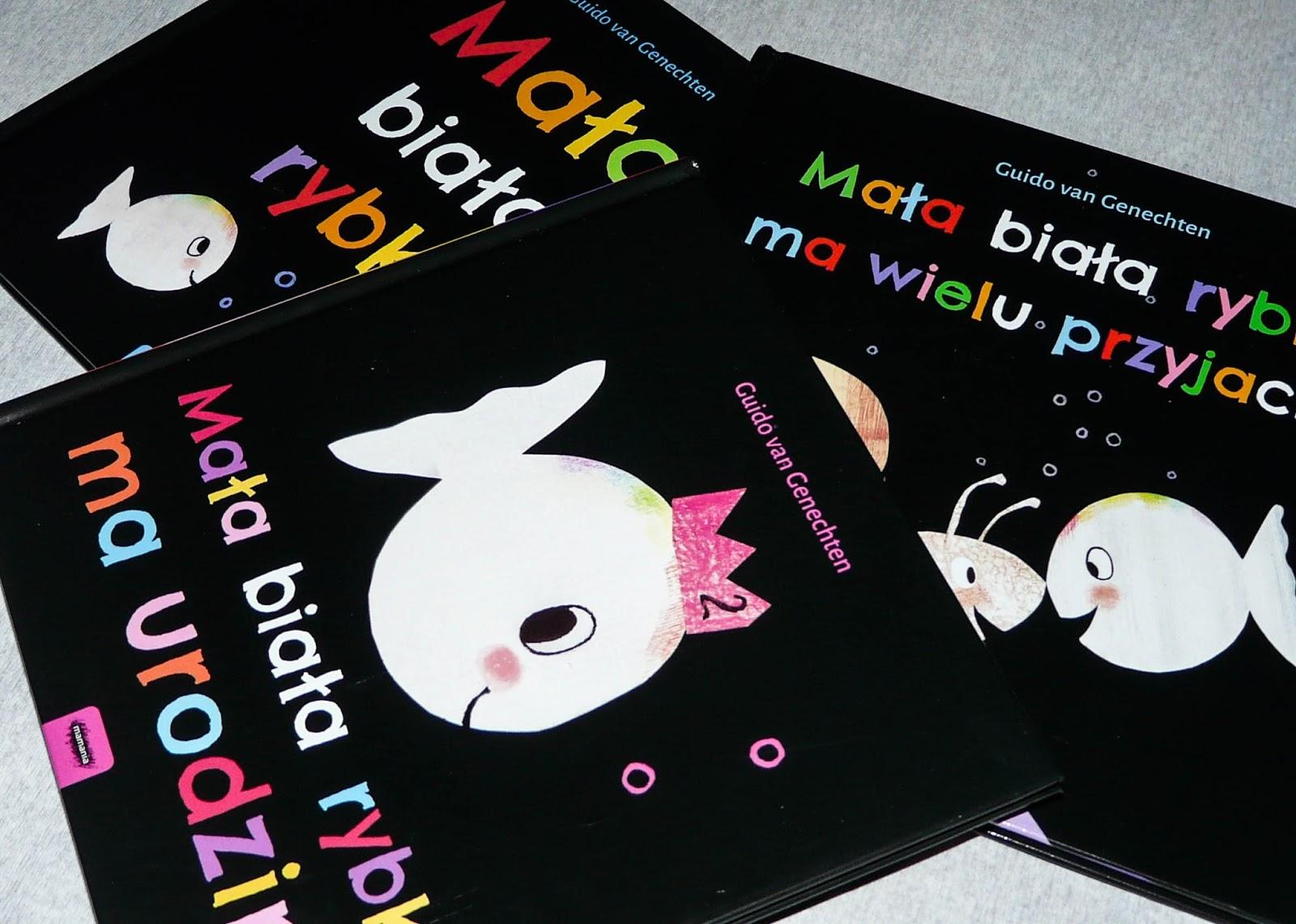 mała biała rybka - seria książek dla dwulatków, książki dla dwulatka
