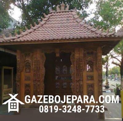 Gazebo Gebyok Jawa
