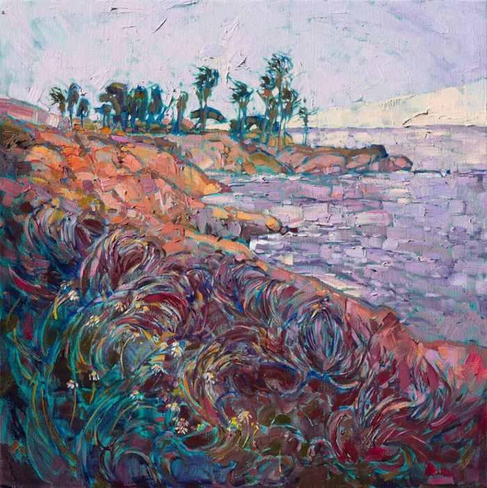Яркие и вдохновляющие пейзажи. Erin Hanson