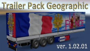 Geographic Trailers Pack v 1.02.01