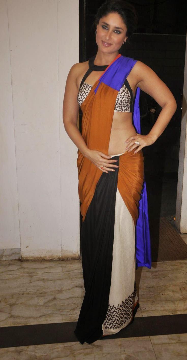 Kareena Kapoor Hot Navel And Backless Hd Images -9016