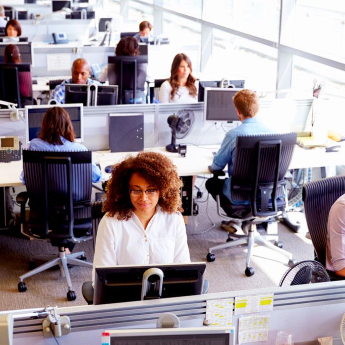 Ilustrasi Karyawan Kantor