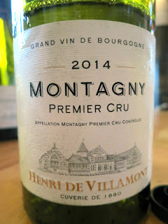 Henri de Villamont Montagny 1er Cru 2014 (91 pts)