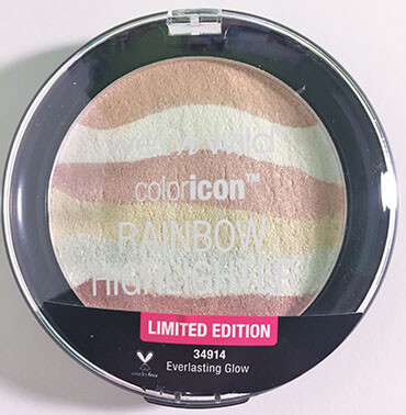 wet n wild coloricon Rainbow Highlighter Everlasting Glow