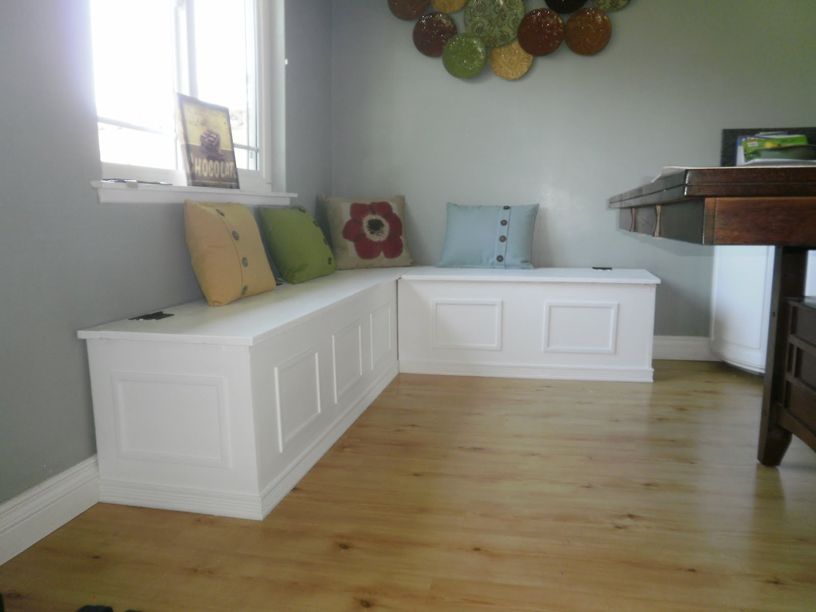 Kitchen Bench Seating With Storage How Much Does A Cabinet Cost The Hugie Happenings July 2011