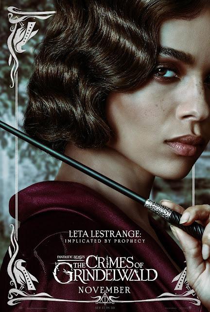 Pôsteres dos personagens de 'Os Crimes de Grindelwald' são divulgados | Leta Lestrange | Ordem da Fênix Brasileira