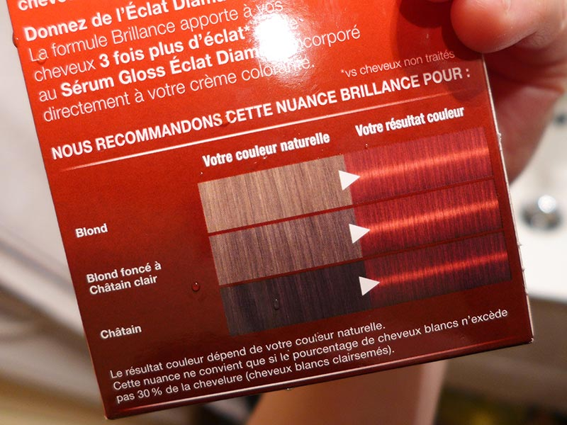 coloration rouge brocart 845 de schwarzkopf - Coloration Rouge Sans Ammoniaque