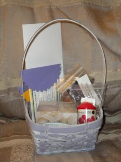 Kristy Is Stamping Silent Auction Baskets