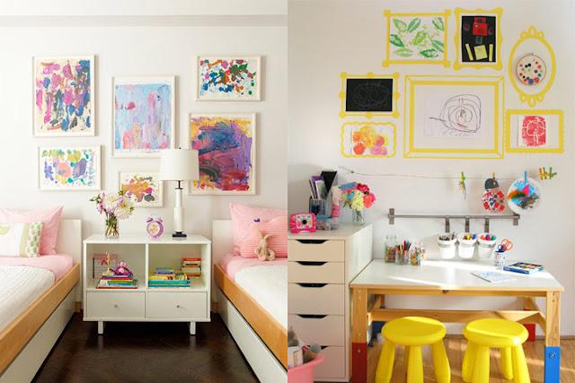 Ideas para decorar las paredes de un dormitorio infantil the deco soul - Decorar dormitorios infantiles ...