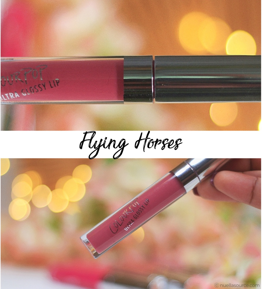 Colourpop ultra glossy lip flying horses