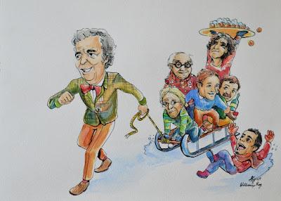 Oudejaarsconference Wim Kan Youp van 't Hek Freek de Jonge Seth Gaaikema Herman Finkers Guido Weijers
