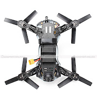 Cheerson CX-91 FPV Racer Quadcopter Back View