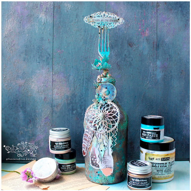 @nastyalena #decor #mixedmedia #alteredart
