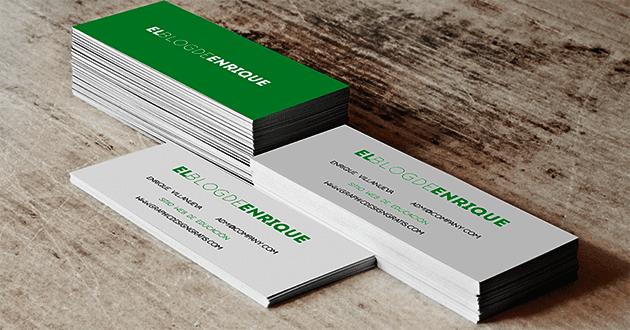 mockup gratis libre de derecho para tarjetas de presentacnión