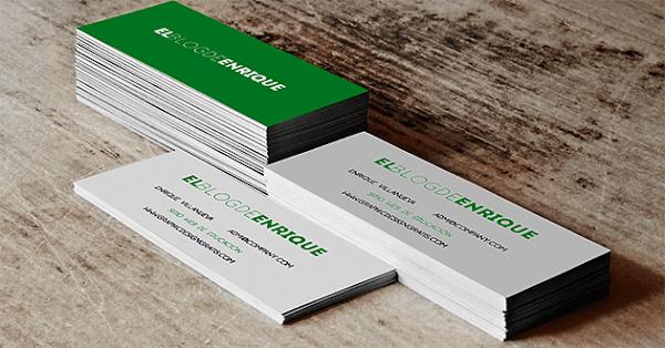 Mockup gratis de tarjeta de presentación (libre de derechos de autor)