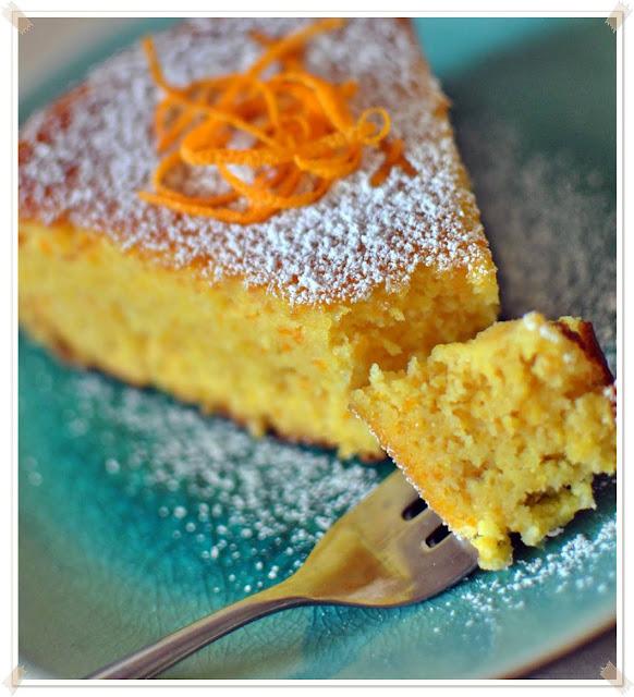 reteta usoara de tort de portocale