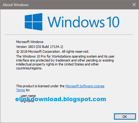 feature update to windows 10 version 1803 iso