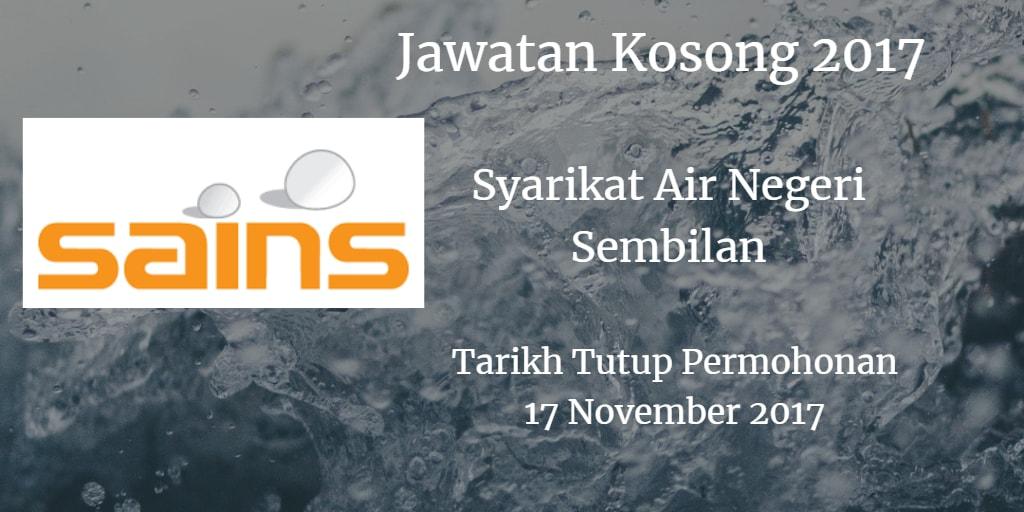 Jawatan Kosong SAINS 17 November 2017