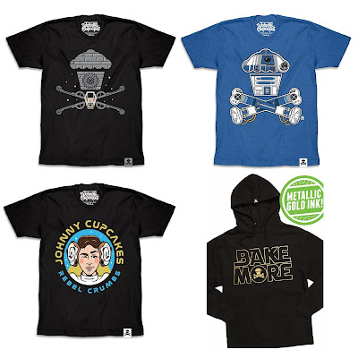 Star Wars Day 2019 T-Shirt Collection by Johnny Cupcakes – May the Fourth Be With You!