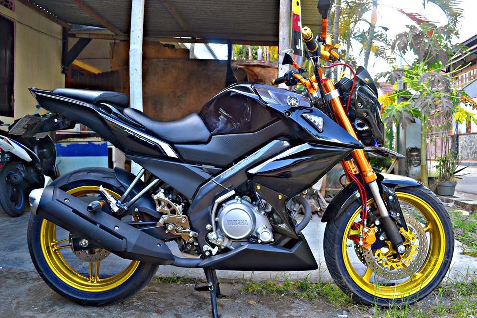Modifikasi Honda Cb150r Dan Yamaha New Vixion Lightning
