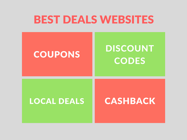 List of Best Deals Websites for Online Shpping