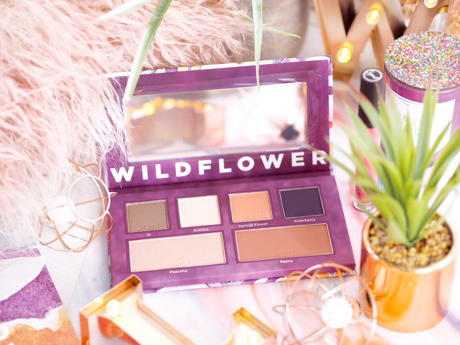 Wildflower palette, Wildflower, Sigma make-up, sigma palette, sigma review