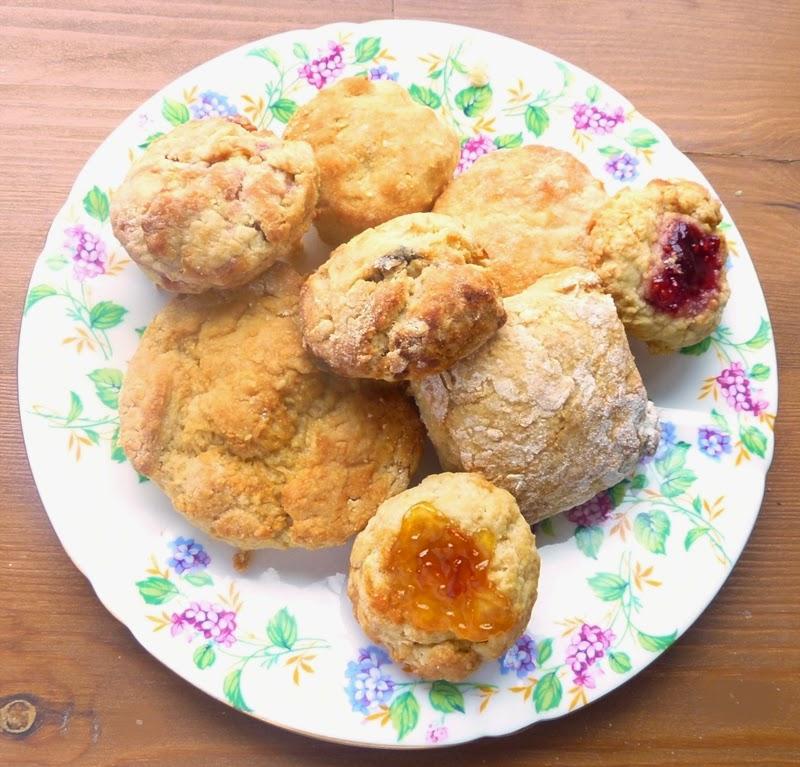 various-sweet-scones