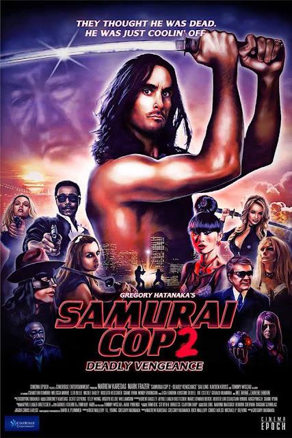 Film Samurai Cop 2 Deadly Vengeance 2015 Bluray 720p Subtitle Indonesia