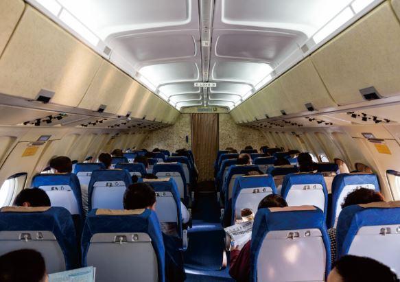 Ilyushin IL-62 cabin