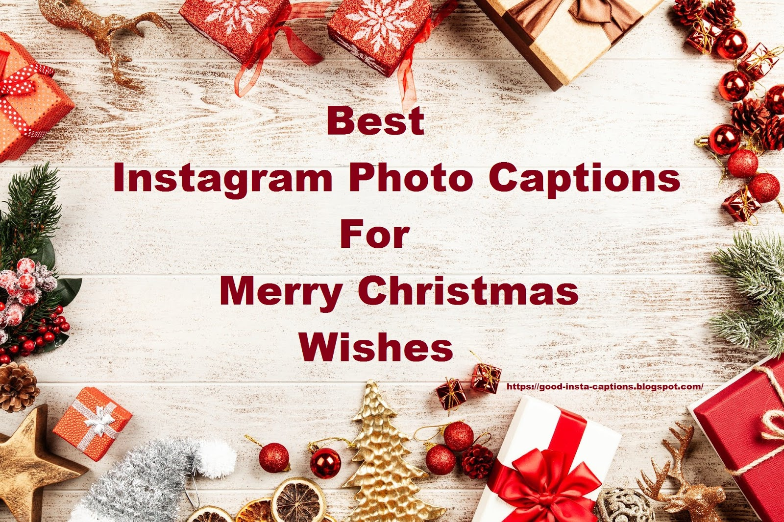 200+ Best Merry Christmas Quotes For Instagram Photo Captions
