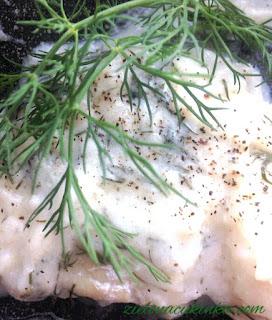 Najlepszy przepis na rybę z sosem koperkowo jogurtowym - smaczne dietetyczne danie