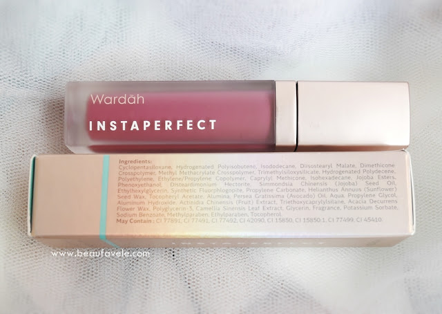Ingredients Wardah Instaperfect Mattesetter Lip Matte Paint