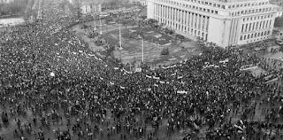 Mitingul anti FSN- Februarie 1990