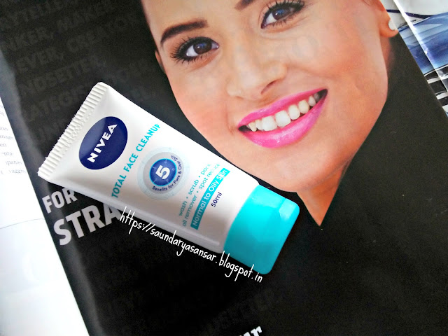 Nivea Total Face Cleanup 5 Review