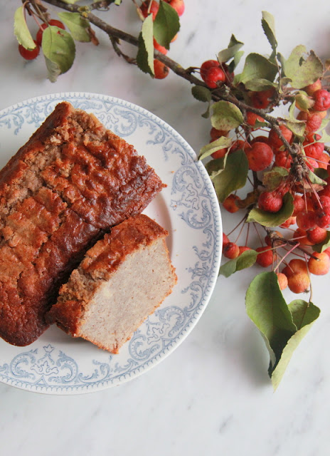 gluten- & suikervrije appelcake - www.desmaakvancecile.com