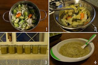 foto Preparazione minestra invernale per bambini