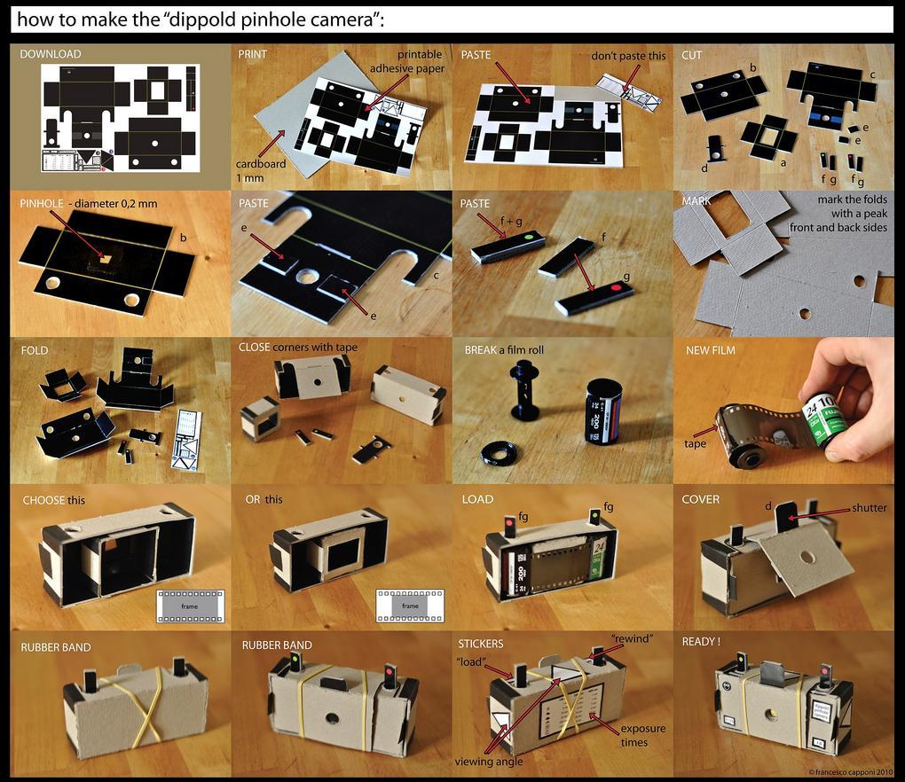 Patent Pending Projects Pinhole Camera Project