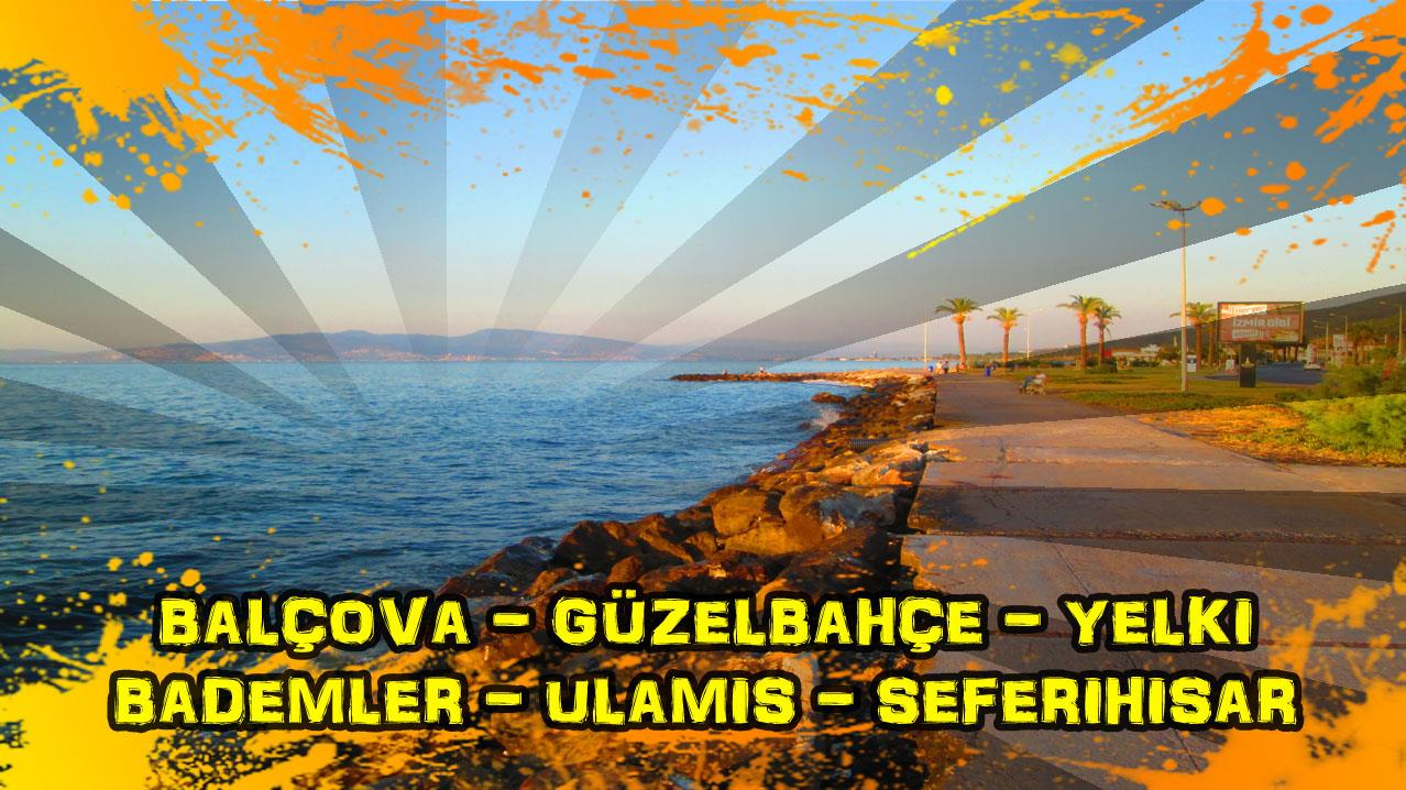 2018/06/13 Balçova - Güzelbahçe - Yelki - Çamlı - Bademler - Ulamış - Seferihisar