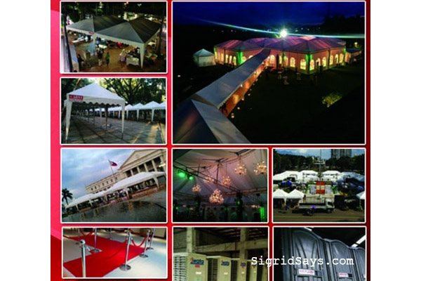 Carvi Canopy Rentals - Bacolod wedding suppliers