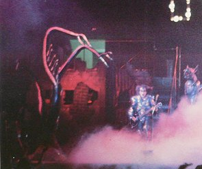 Kiss Destroyer Tour Stage