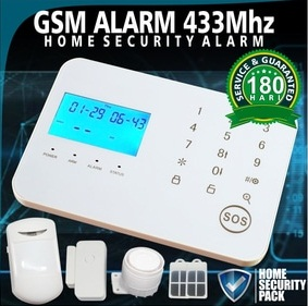 Alarm security system anti kejahatan