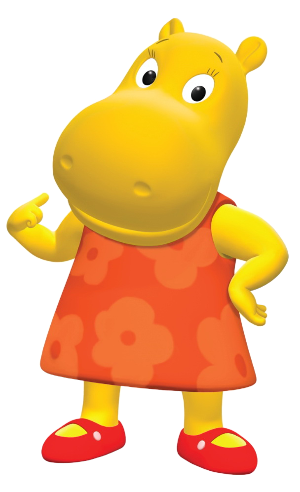 Cartoon Characters: The Backyardigans (PNG)