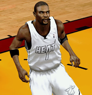 NBA 2K13 Chris Bosh Realistic Cyberface Download