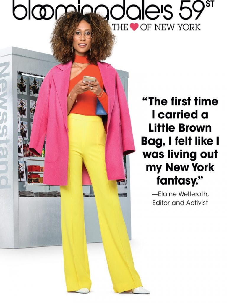 Elaine Welteroth fronts Bloomingdale's 'Heart of N.Y.' campaign
