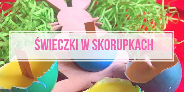 Świeczki w Skorupkach Od Jajek DIY. ZRÓB TO SAM.