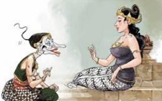 Gambar Karikatur Wayang Kartun Lucu Kisah Legenda Pewayangan