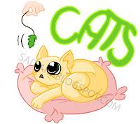 Przykładowy nadruk: kotek na koszulkę ^_^