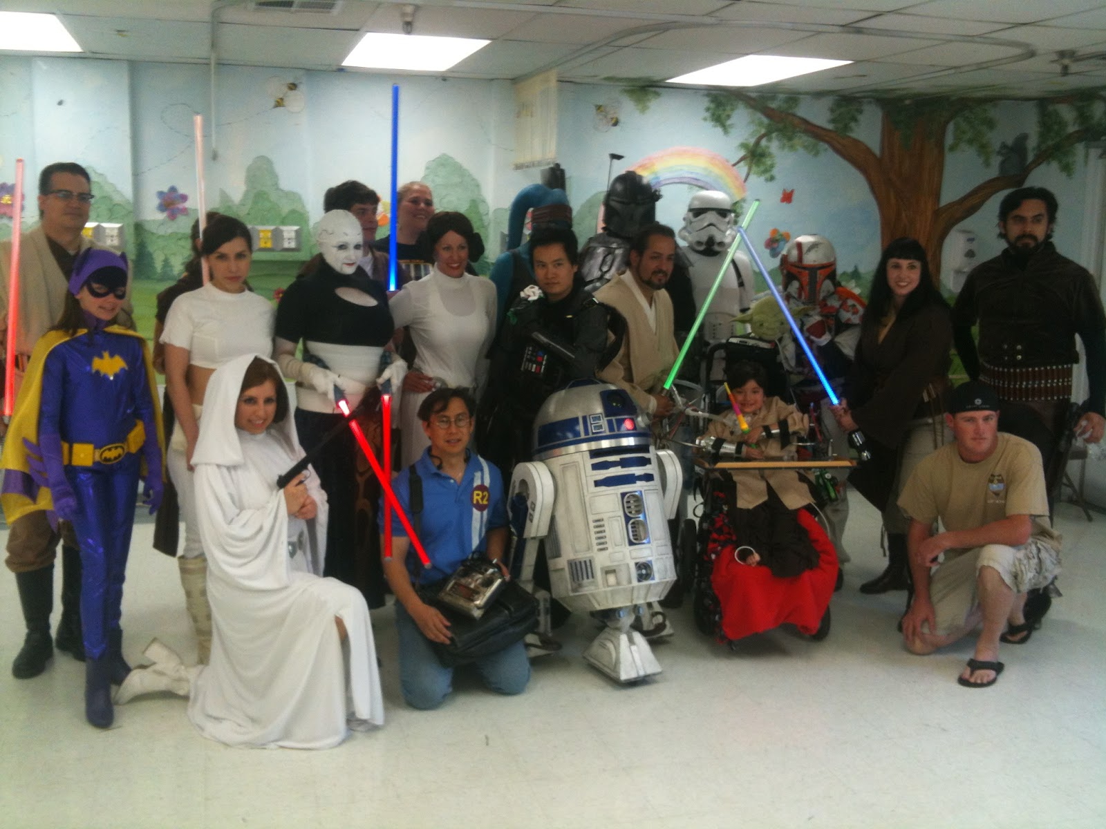 Adventures With R2 D2 Bb 8 Totally Kids Specialty Health Care Event