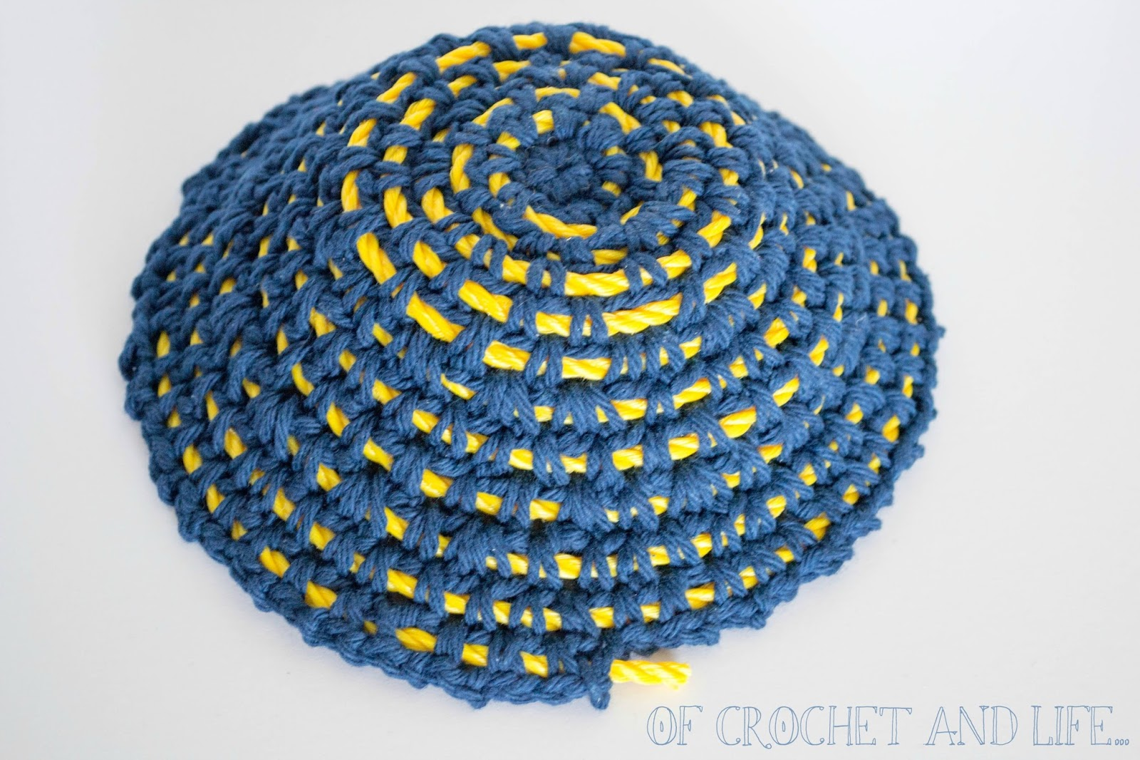Of Crochet and Life...: Coiled Rope Crochet Bowl